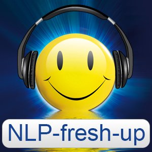 Das NLP-fresh-up Logo